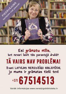 Plakāts Esi grāmatu mīlis