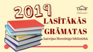 2019. gada lasītākās grāmatas
