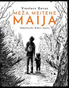 Ilustrācija grāmatai Meža meitene Maija