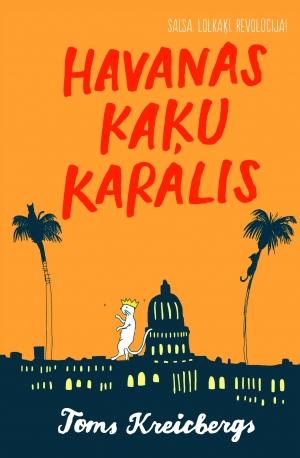 Ilustrācija grāmatai Havanas kaķu karalis