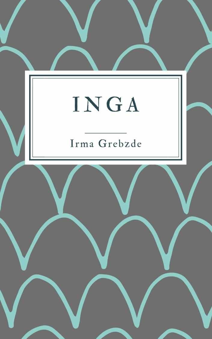 Ilustrācija grāmatai Inga