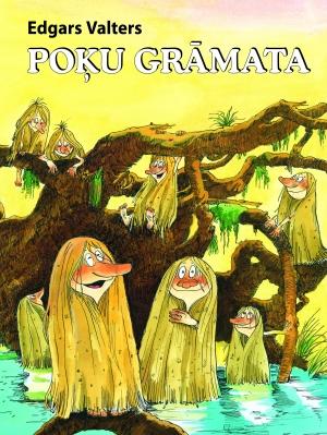 Ilustrācija grāmatai Poķu grāmata