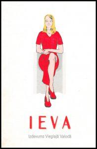 Ilustrācija grāmatai Ieva