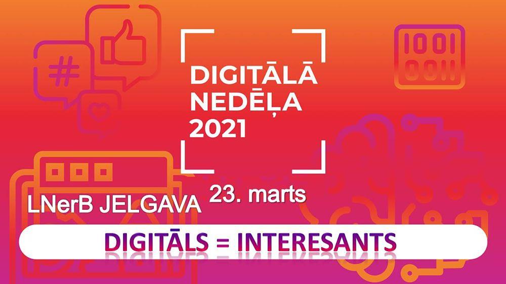 Digitālā nedēļa 2021 Jelgavā