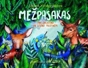 Ilustrācija grāmatai Mežpasakas : par Zalktēnu un stirnu meitenēm