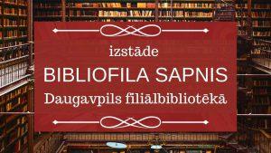 Bibliofila sapnis galvene