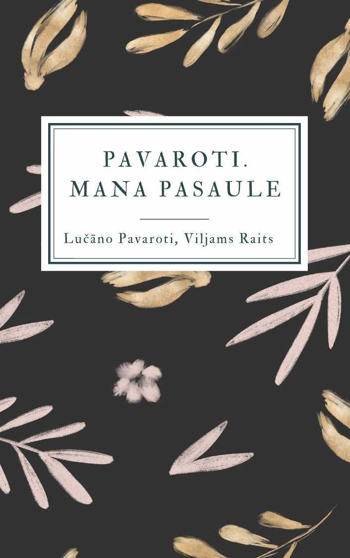 Ilustrācija grāmatai Pavaroti. Mana pasaule