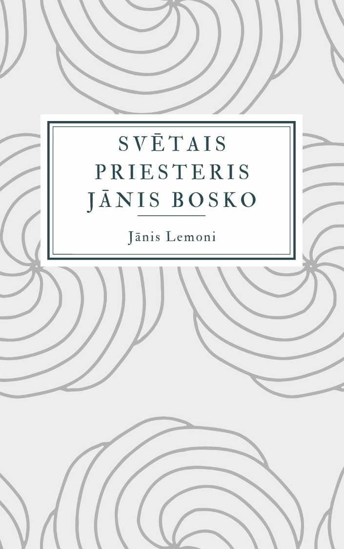 Ilustrācija grāmatai Svētais priesteris Jānis Bosko