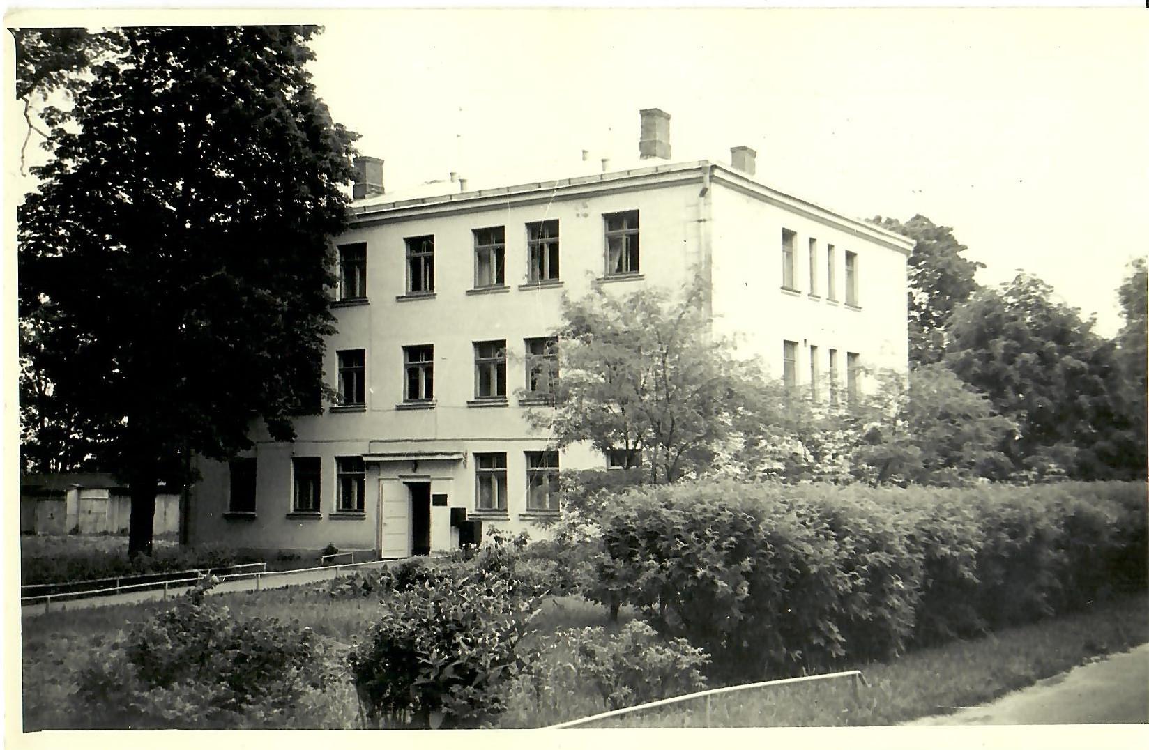 Neredzīgo Biedrības centrālās valdes ēka 1972.gadā (Foto no V.Kārkliņa arhīva)