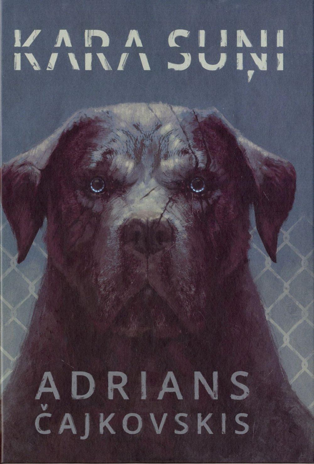 Ilustrācija grāmatai Kara suņi