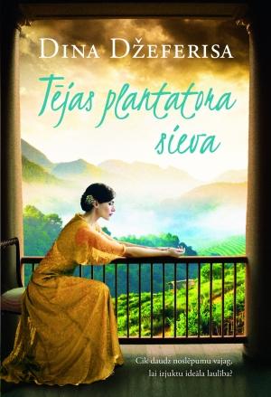 Ilustrācija grāmatai Tējas plantatora sieva