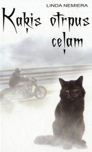 Ilustrācija grāmatai Kaķis otrpus ceļam