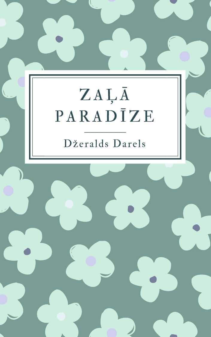 Ilustrācija grāmatai Zaļā paradīze