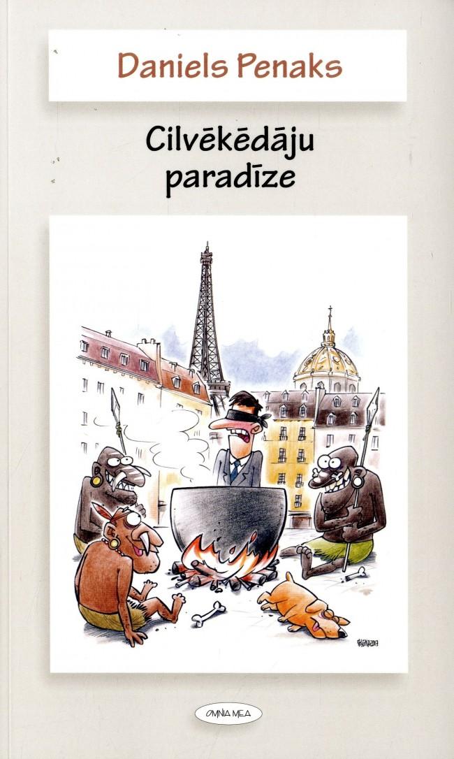 Ilustrācija grāmatai Cilvēkēdāju paradīze