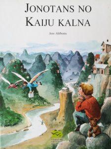 Ilustrācija grāmatai Jonotans no Kaiju kalna