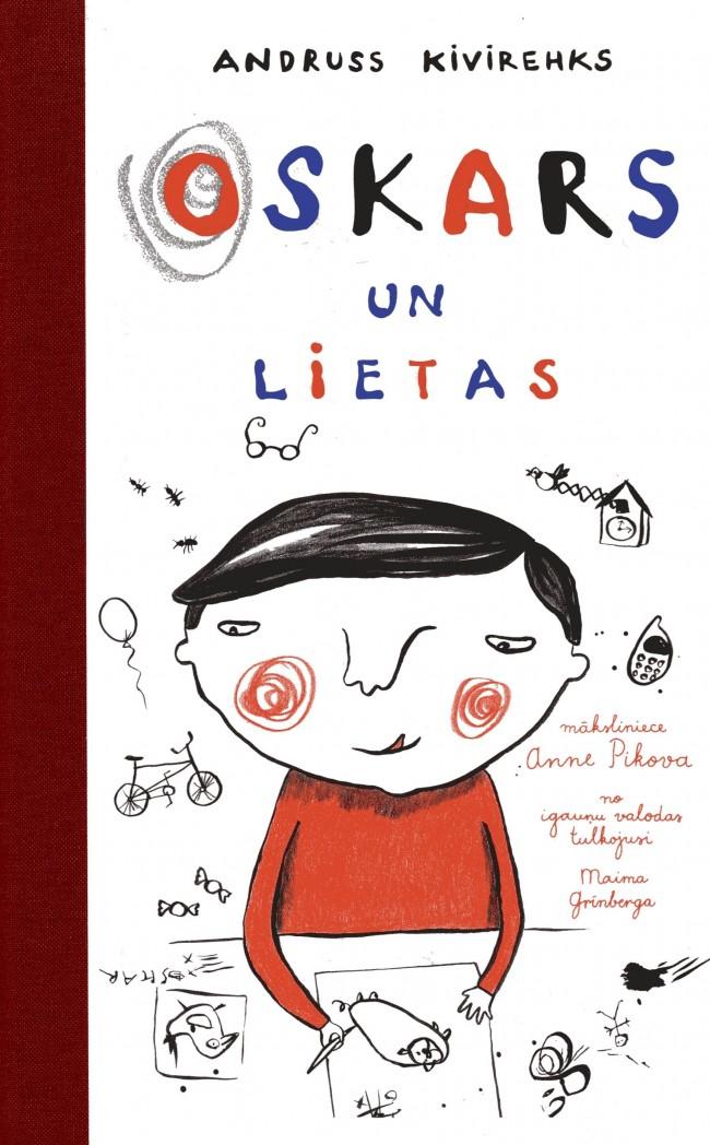 Ilustrācija grāmatai Oskars un lietas