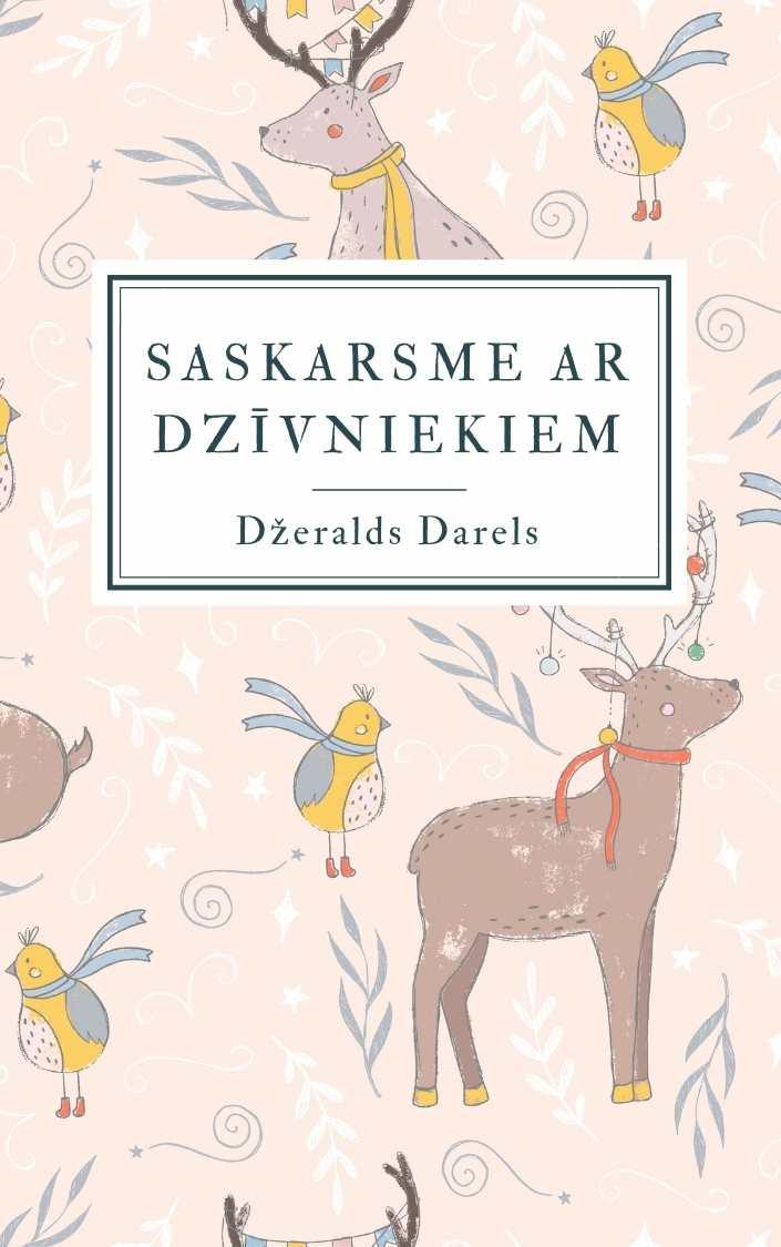 Ilustrācija grāmatai Saskarsme ar dzīvniekiem